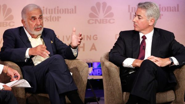 carl icahn vs bill ackman