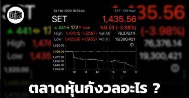 ตลาดหุ้นกังวลอะไร