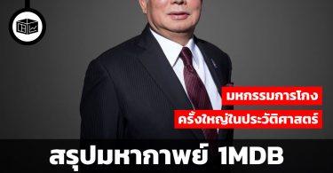 สรุปมหากาพย์ 1MDB