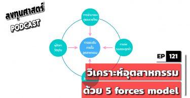 วิเคราะห์อุตสาหกรรมด้วย 5 forces model ในคลิปเดียว