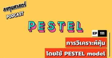 การวิเคราะห์หุ้น โดยใช้ PESTEL model