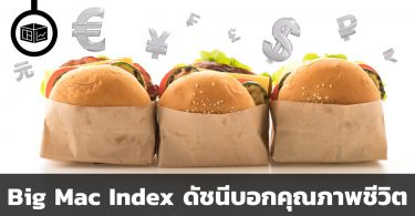 Big Mac Index ดัชนีบอกคุณภาพชีวิต