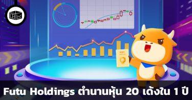 Futu Holdings ตำนานหุ้น 20 เด้งใน 1 ปี